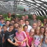 enfants fraises